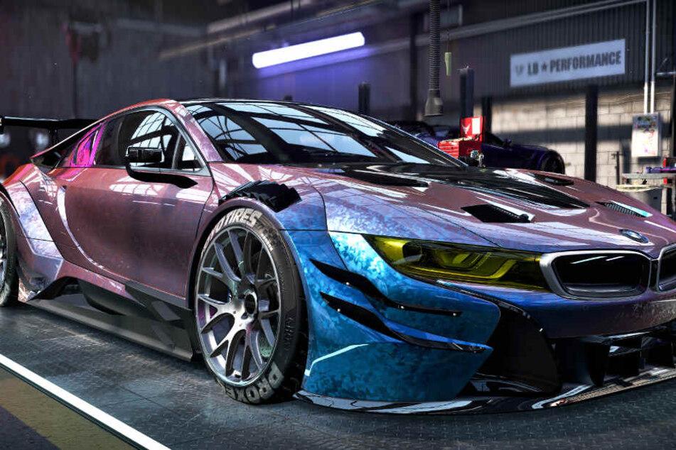 Beim Tuning sind Euch so gut wie keine Grenzen gesetzt. Dieser BMW kann sich sehen lassen, oder?