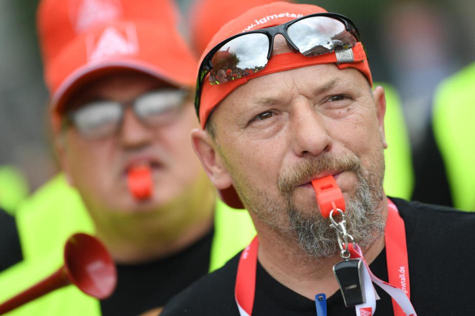 Anderthalb Wochen nach Beendigung des Streiks bei Halberg Guss will die Leipziger Gießerei eventuell erneut streiken - wenn sich die Geschäftsleitung nicht bewegt.