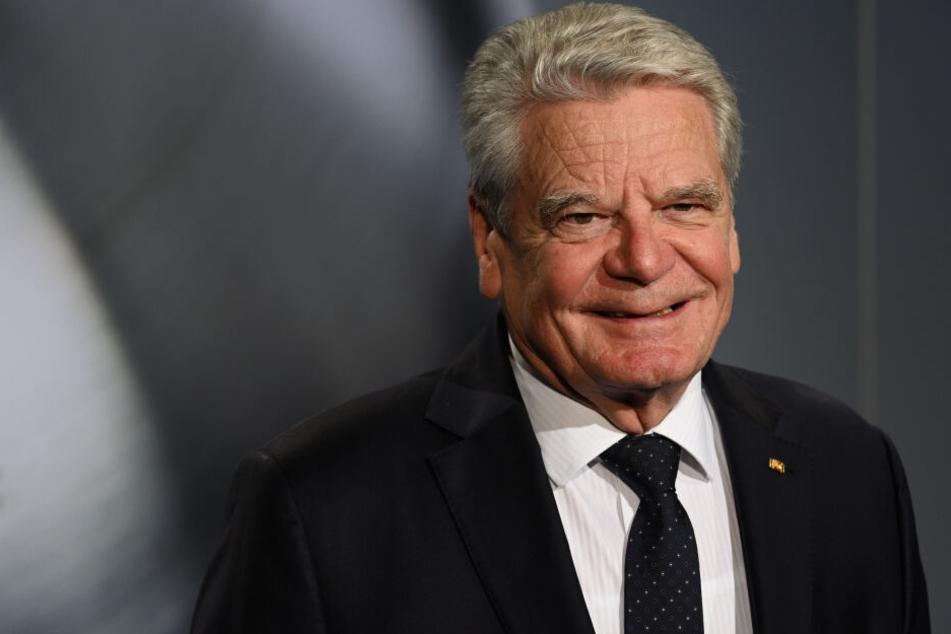 """Joachim Gauck ist für """"begrenzte Form der Duldung"""" von Linken-Regierung in Thüringen"""