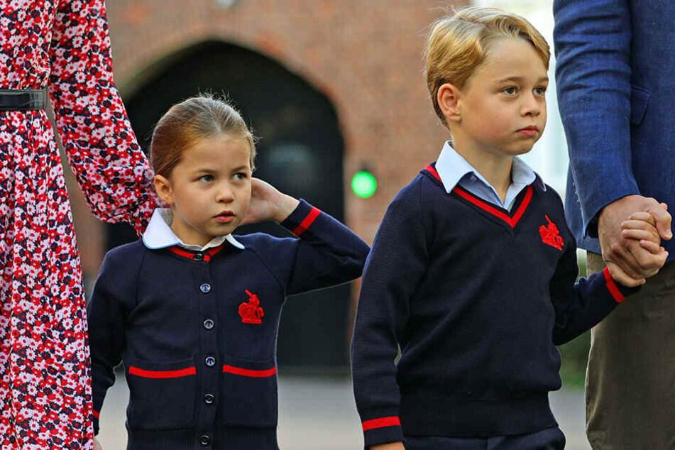 Prinz George wurde bereits vor zwei Jahren eingeschult.