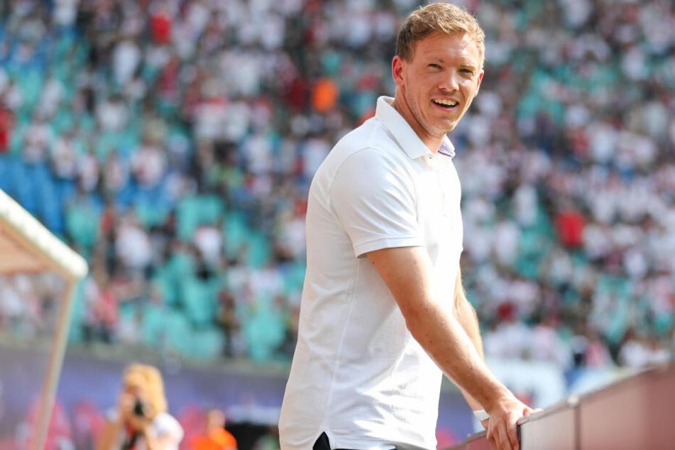 Neu-Trainer Julian Nagelsmann versicherte Werner, dass er weiter auf ihn setzen werde.