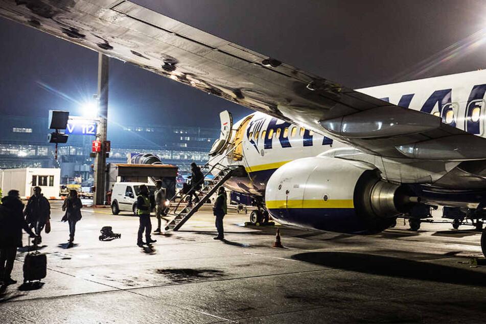 Kurz vor Start: Ryanair-Flugzeug beschlagnahmt!