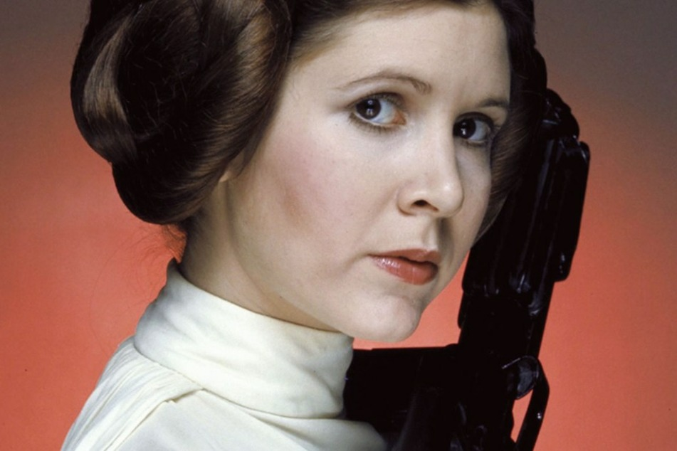 Carrie Fisher in der Rolle ihres Lebens: Prinzessin Leia.