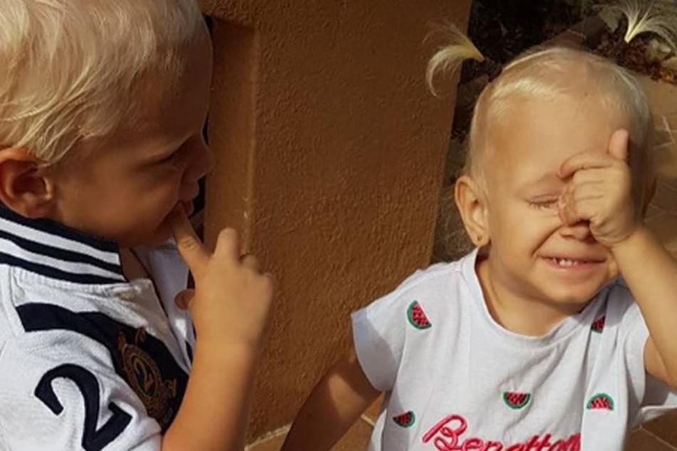 Nicht nur für die Zwillinge Jenna und Diego muss Daniela nun allein sorgen.