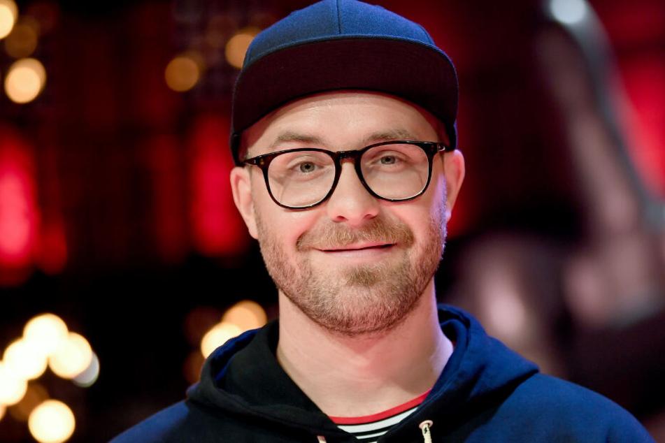 Berlin: Mark Forster am Rande der Sendung «The Voice of Germany».
