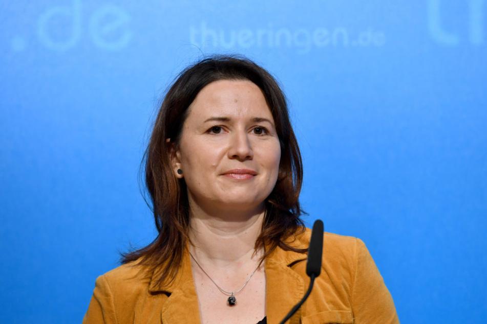Umweltministerin Anja Siegesmund sieht die Genehmigung aus Kassel zur Abwasserentsorgung kritisch.