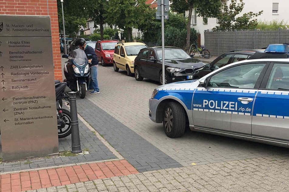 In Ludwigshafen gab es am Freitag einen Polizeieinsatz.