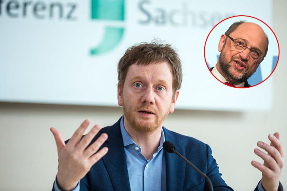 Sachsen-CDU zittert vor Martin Schulz