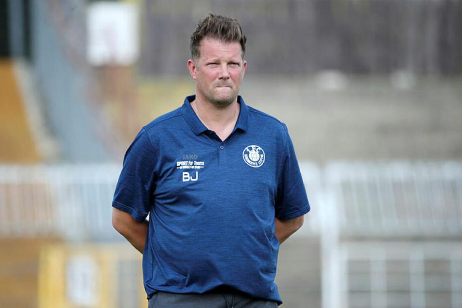 Teamchef Björn Joppe hat mit Lok Leipzig die dritte Niederlage im fünften Testspiel hinnehmen müssen.