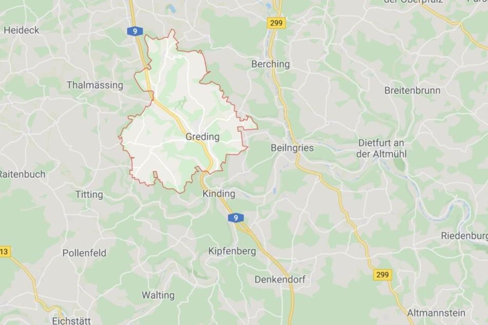 In Bayern ist es auf der Autobahn 9 bei Greding zu einem schweren Verkehrsunfall gekommen.