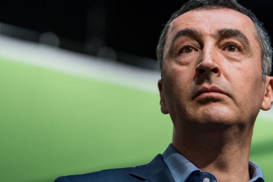 Cem Özdemir will Fraktionschef der Grünen im Bundestag werden
