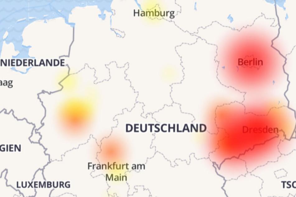 Deutschlandweite Störung im 1&1 Versatel-Netz.