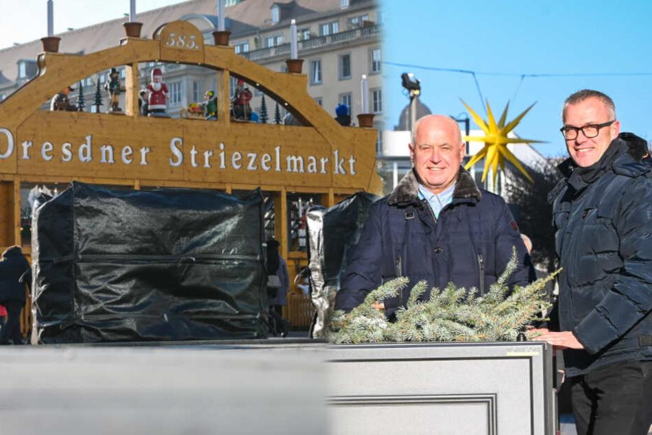 Dresden: Striezelmarkt: So sicher wie ein Atommüll-Lager?