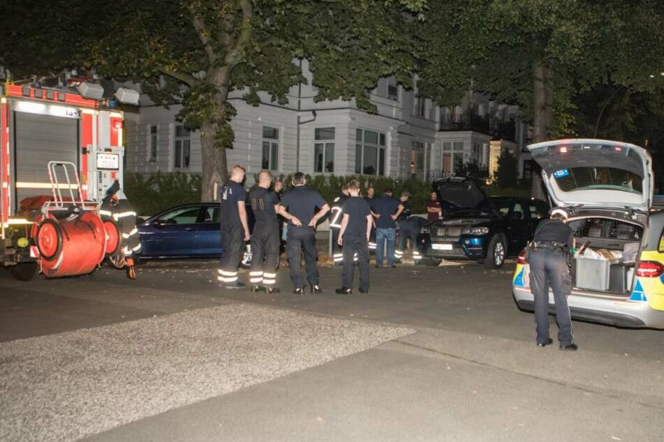 Die Beamten gehen vom Racheakt eines verärgerten Passanten aus.