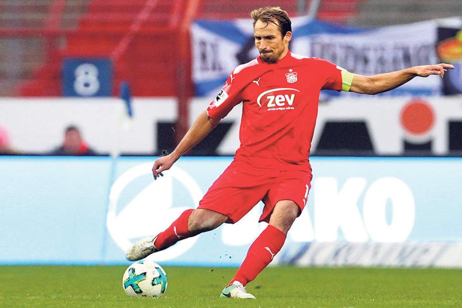 FSV-Kapitän Toni Wachsmuth setzt im Ostderby gegen Halleganz besonders auf die Unterstützungder Fans