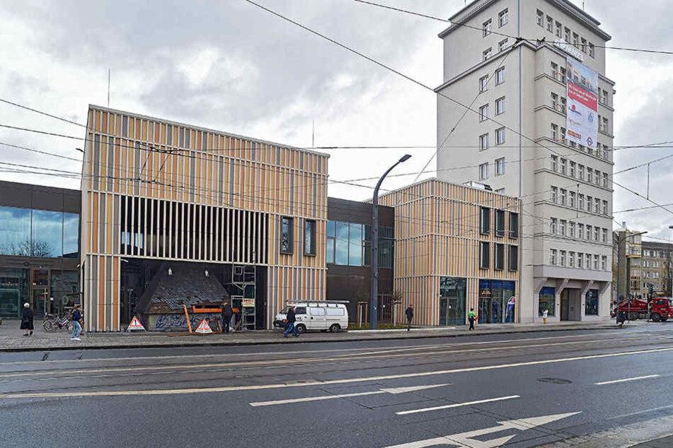 Hier plant Peter Simmel den neuen Standort des Museums.