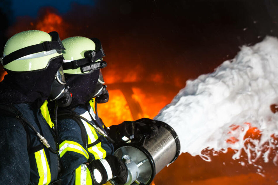 Nach der Rettung durch die Feuerwehr, nahm der Freier Reißaus (Symbolbild).