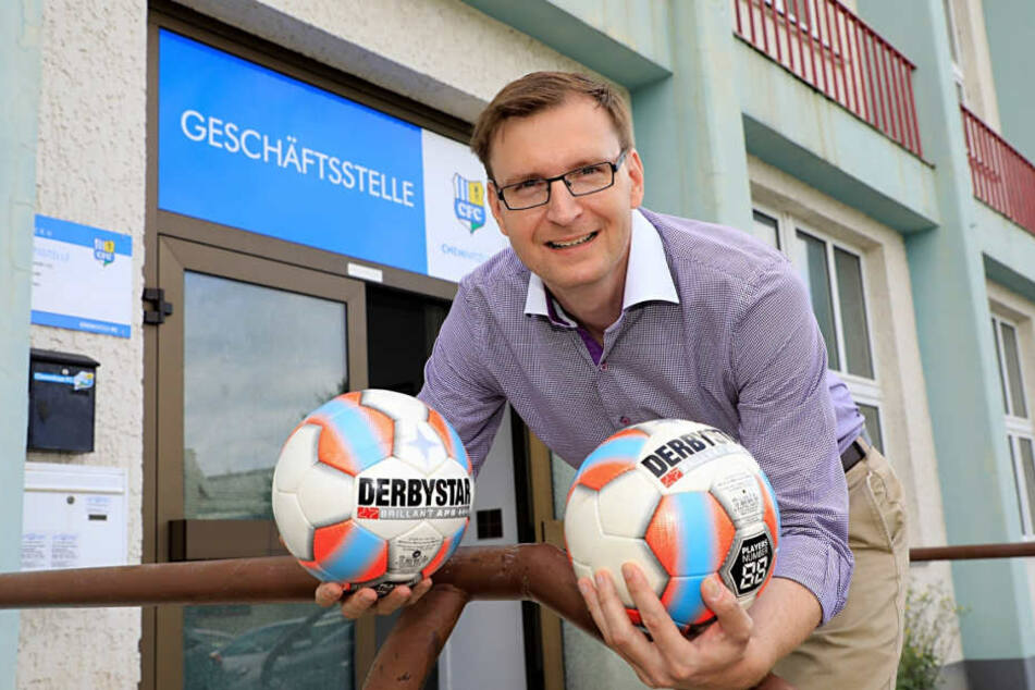 Lars Schauer ist als kaufmännischer Geschäftsführer des CFC bereits wieder Geschichte.