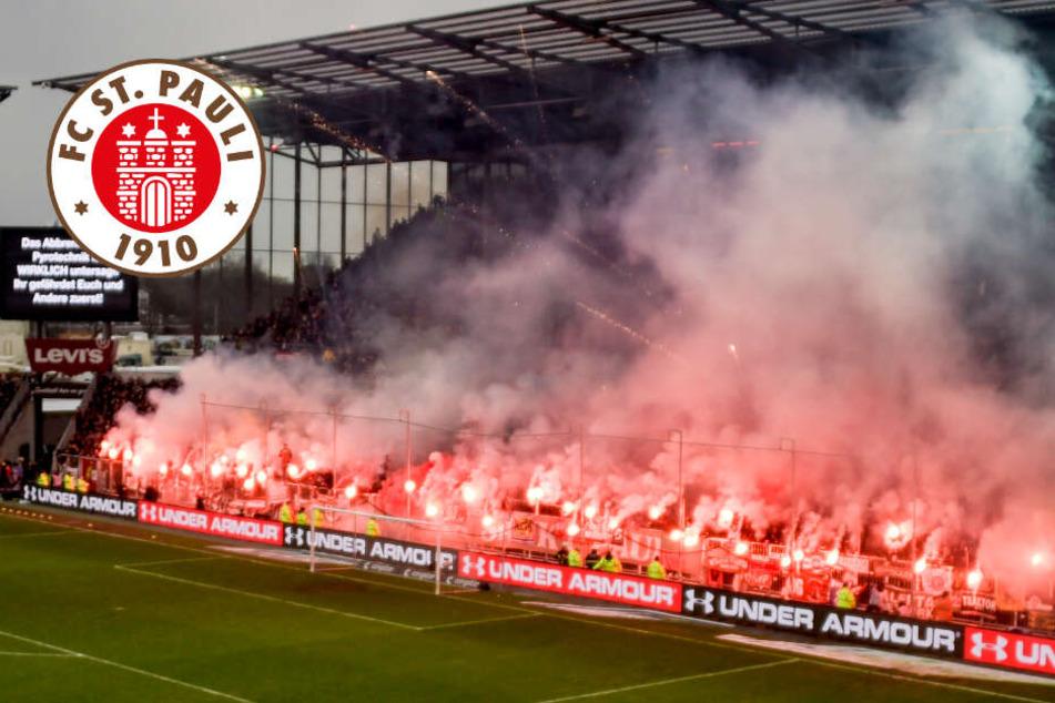 Pyro-Derby: So heftig fällt die Geldstrafe für den FC St. Pauli aus