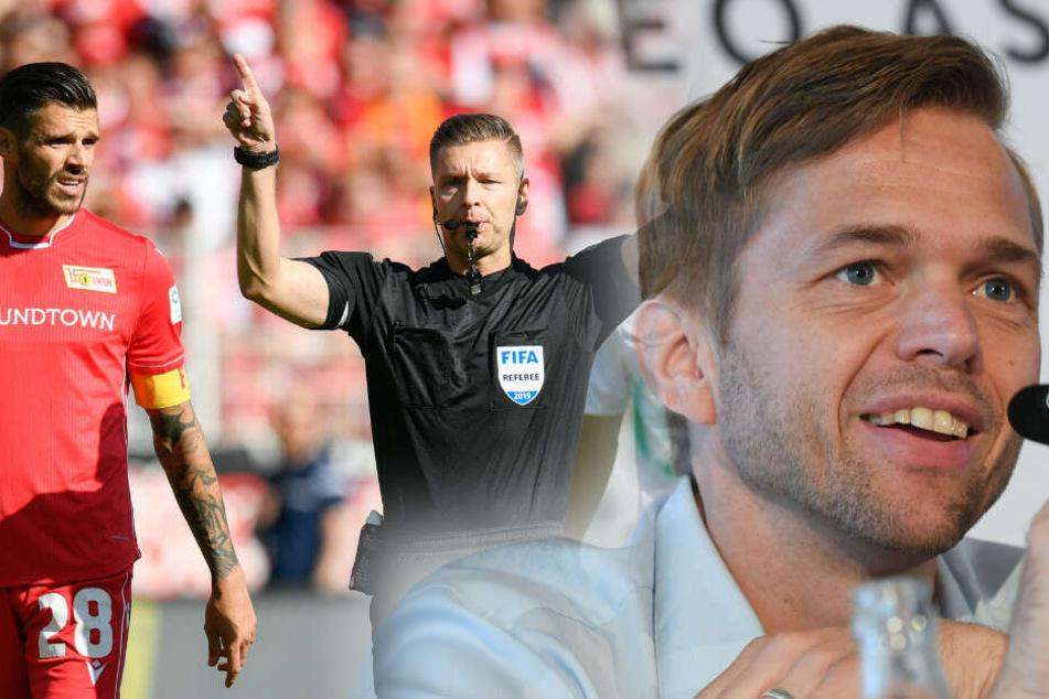 Jochen Drees bewertet den ersten Elfmeterpfiff für Werder Bremen als falsche Entscheidung. (Bildmontage)