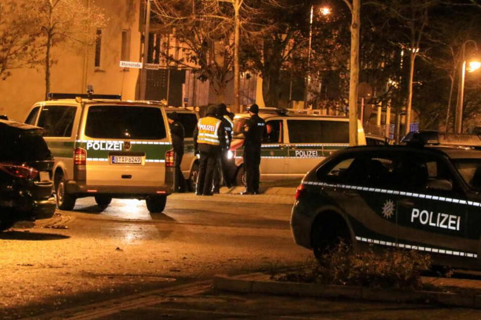 Etwa 100 Polizeibeamte waren im Einsatz.