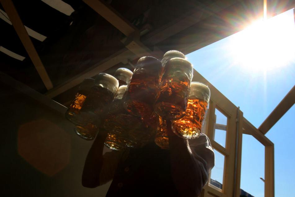 Volksfeste im Hitzesommer: Schausteller in Bayern besorgt