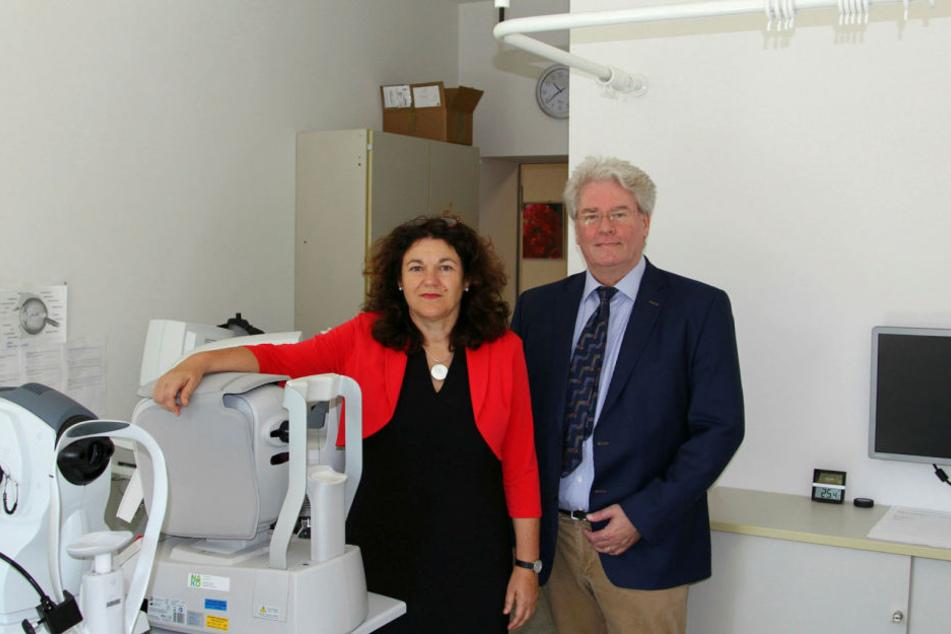 LIFE-Studienleiter Prof. Markus Löffler und Institutsleiterin Prof. Steffi Riedel-Heller haben Gesundheitsdaten von 10.000 Sachsen im Alter von 20 bis 80 Jahren gesammelt.