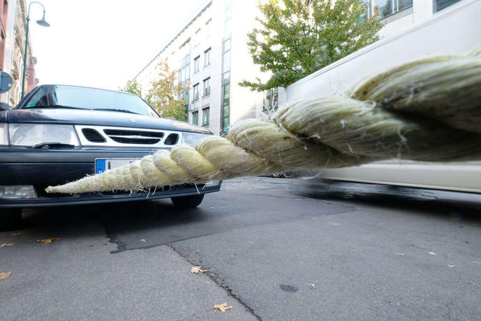 Abschleppen als letzte Lösung für ein unrechtmäßig abgestelltes Auto? In diesem Fall war das anders.