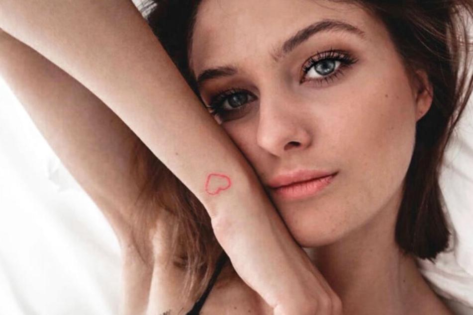 Das Model Vanessa Stanat weiß sich auf Instagram zu präsentieren.