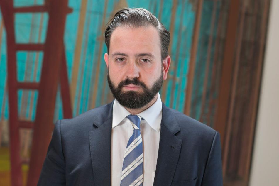 Möchte Sachsens Gerichte und Staatsanwaltschaften verjüngen: Justizminister  Sebastian Gemkow (CDU).