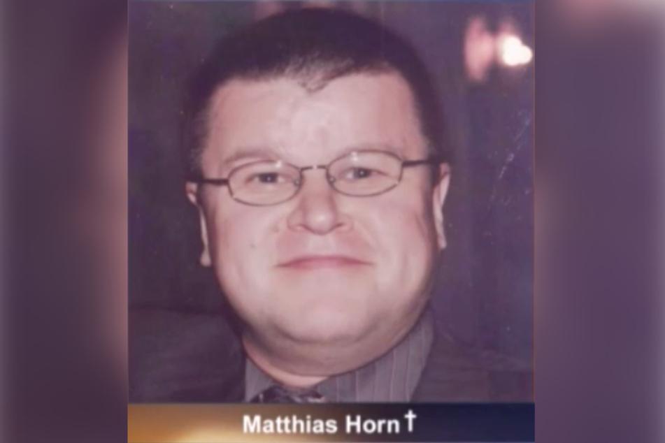 Wurde an Valentinstag 2006 brutal ermordet: Matthias Horn (†36).