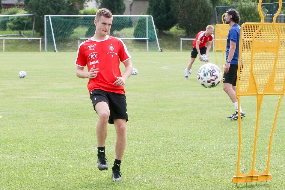 Luca Horn (22) will sich in Zwickau für höhere Aufgaben empfehlen.