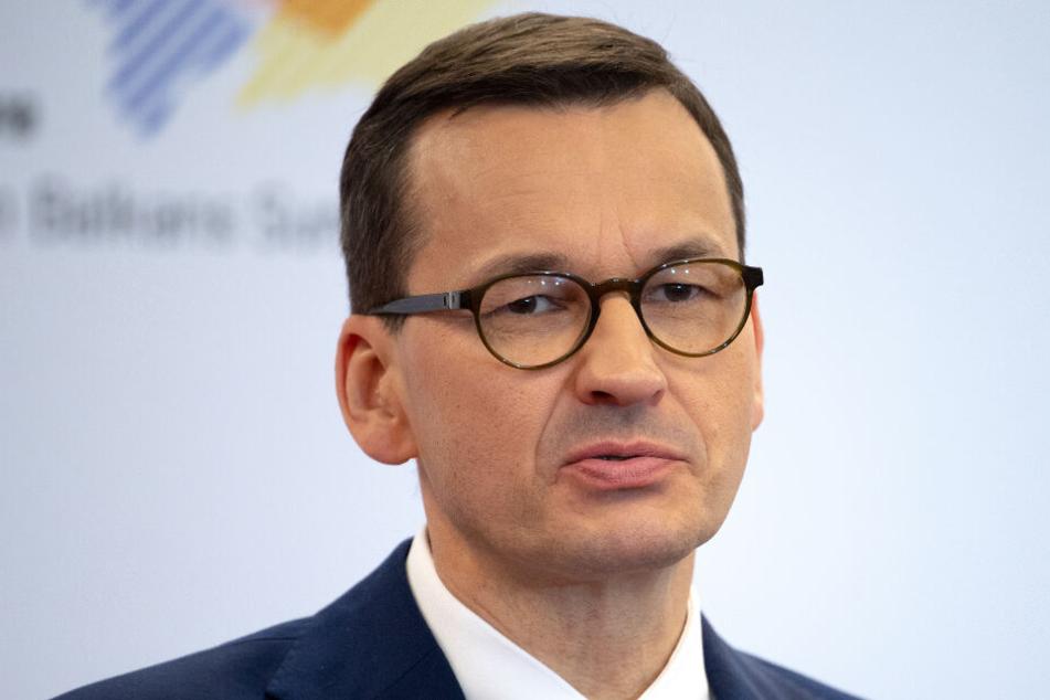 Polens Regierungschef Mateusz Morawiecki (51).