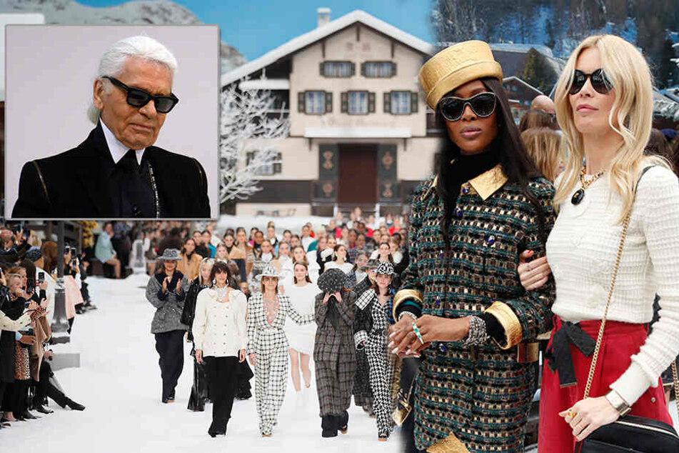 Tränenreicher Abschied von Karl Lagerfeld: Chanel zeigt seine letzte Kollektion