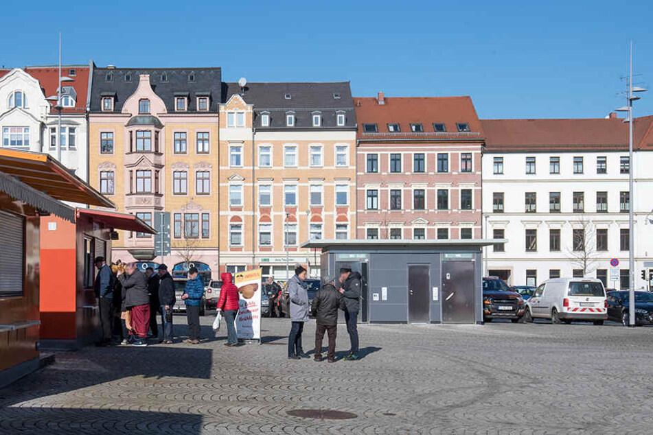 In der Nähe des Zwickauer Neumarkts ist es am Samstag zu einer blutigen Auseinandersetzung gekommen. (Archivbild)