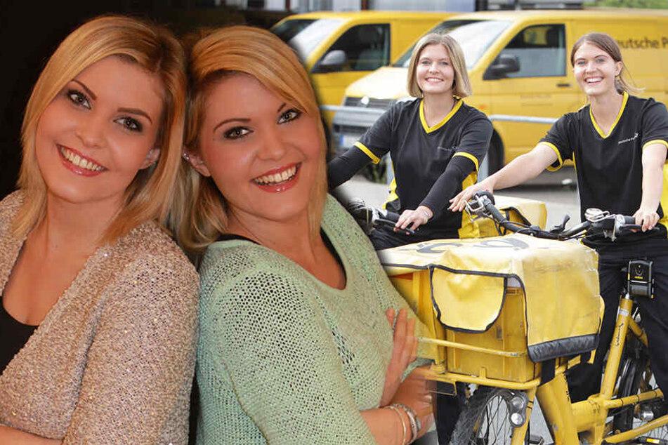 Das sind Sachsens schönste Zwillinge von der Post