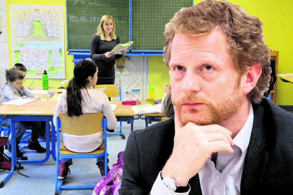 Es kann sein, dass Chemnitz eine Grundschule neu bauen muss, so Baudezernent  Michael Stötzer (44, Grüne).
