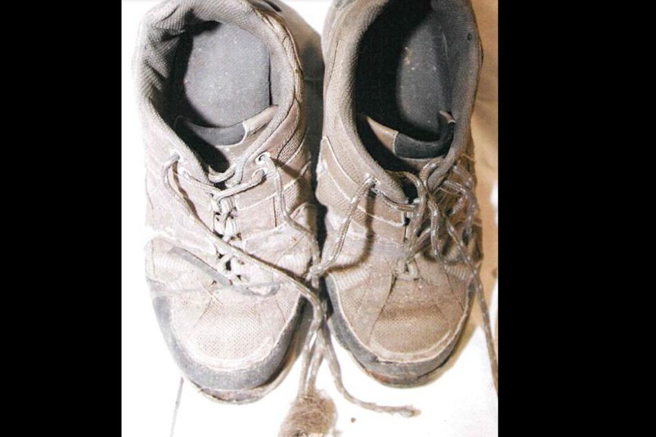 Die Schuhe der Unbekannten.