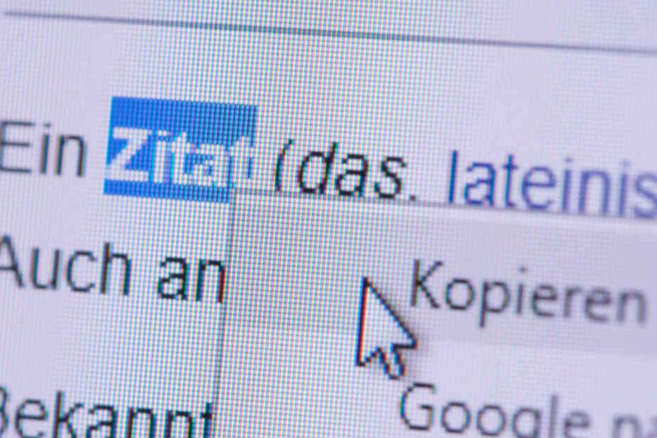 Die meisten Unis verwenden mittlerweile eine Plagiatssoftware. (Symbolbild)