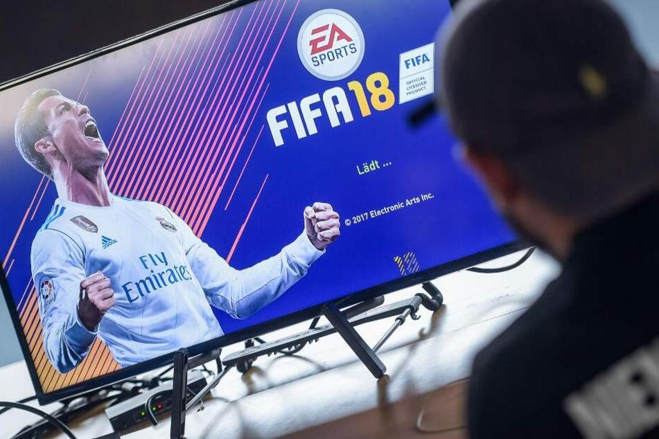 Der DSC konzentriert sich auf das Spiel FIFA.