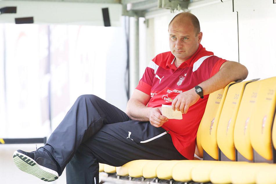 FSV-Sportchef David Wagner blickt trotz der Finanz-Probleme optimistisch in die Zwickauer Zukunft.