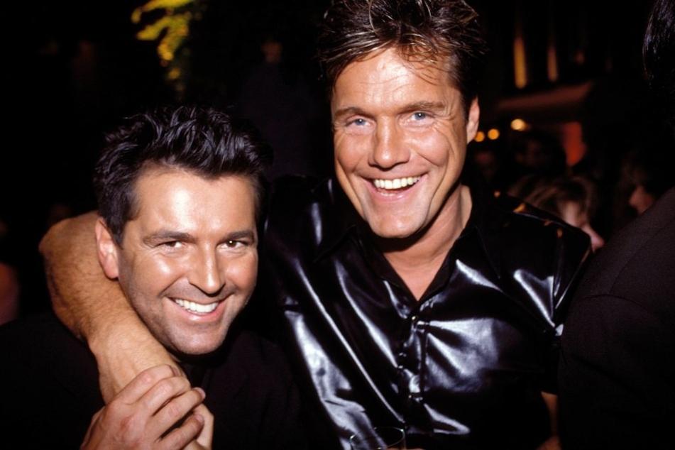 Thomas Anders und Dieter Bohlen zählen mit Modern Talking zu den erfolgreichsten deutschen Bands.