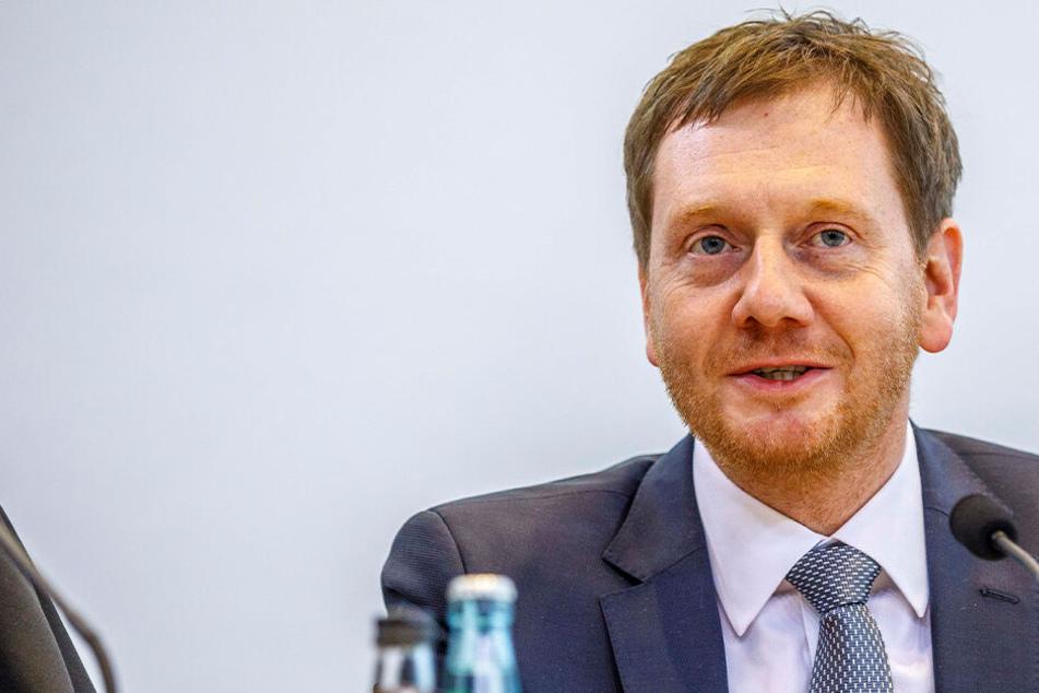 Ministerpräsident Kretschmer kommt zum Diskutieren