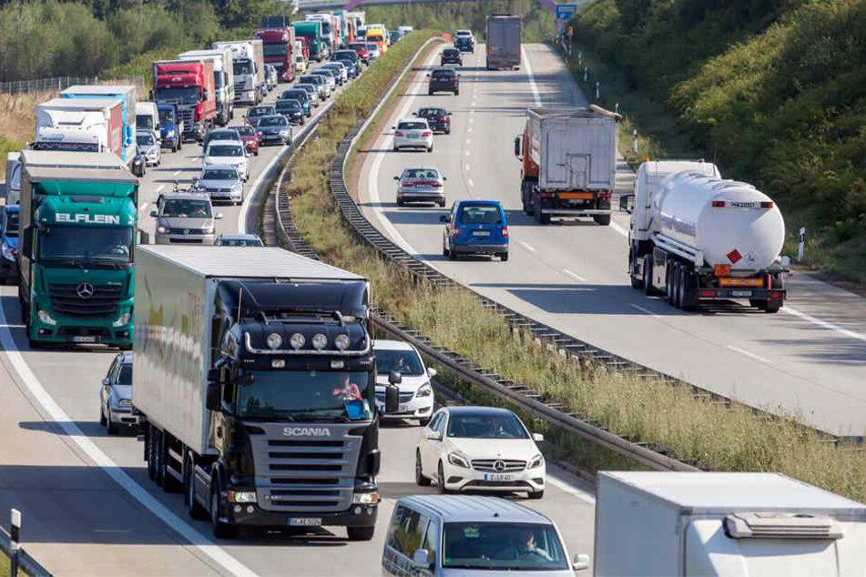 Mit dem neuen Tempolimit steigt die Staugefahr auf der A72.