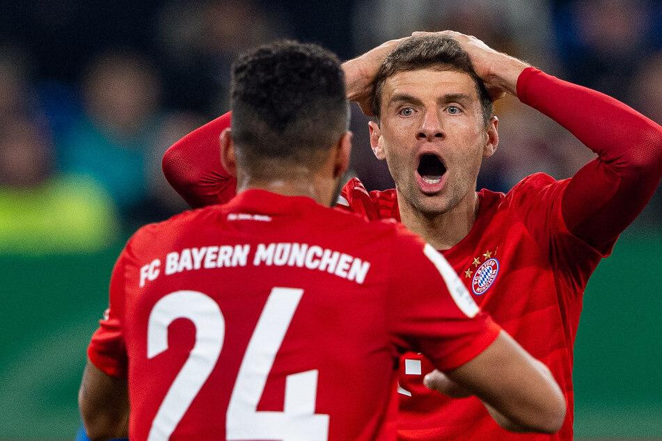 Thomas Müller konnte es beim Duell mit Schalke stellenweise selbst nicht glauben.