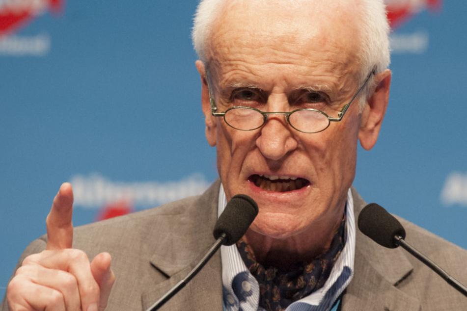 Albrecht Glaser (75) kandidierte 2017 erfolglos um das Amt des Bundespräsidenten.