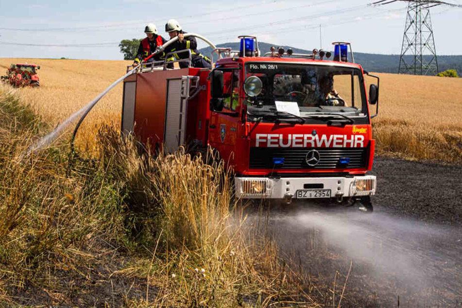 Der Brand konnte gelöscht werden.