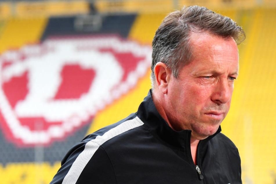 Trainer Markus Kauczinski will allen Widrigkeiten zum Trotz mit seinen Jungs heute beim SV Sandhausen nach dem letzten Strohhalm greifen und gewinnen.