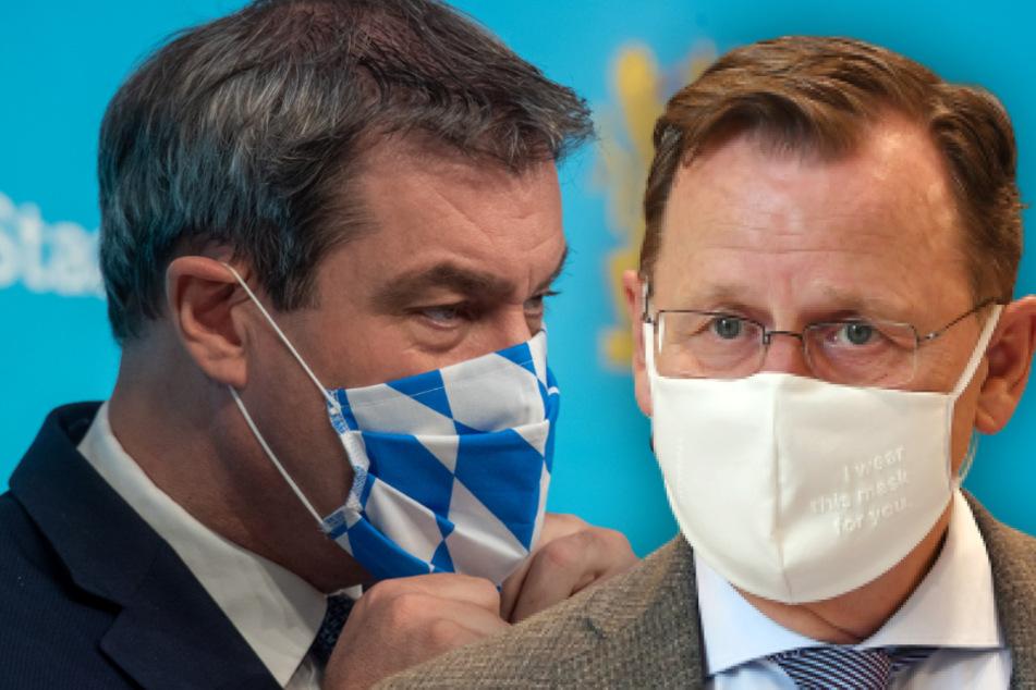 Lockerer gegen Bremser: Warum Söder und Ramelow zwei Strategien fahren
