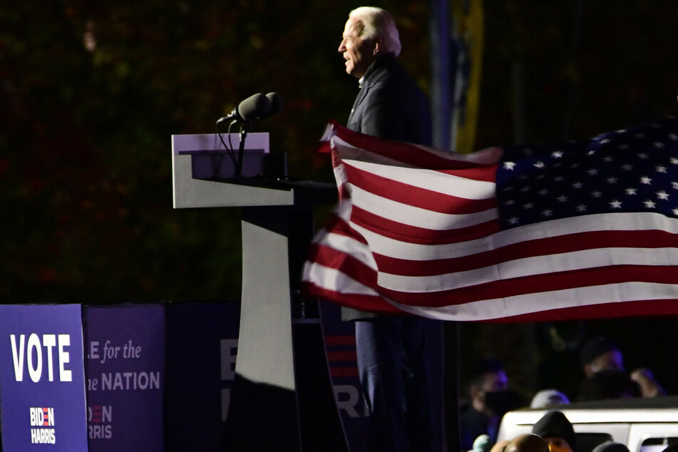 Democratic candidate Joe Biden wrapped up his campaign tour in Pittsburgh, Pennsylvania.